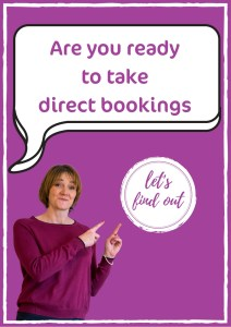 Are you ready to take direct bookings