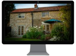 holiday home website exterior