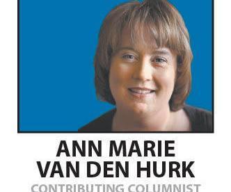 Ann Marie van den Hurk is a columnist for Kentucky.com, the website of the Lexington, KY, Courier.