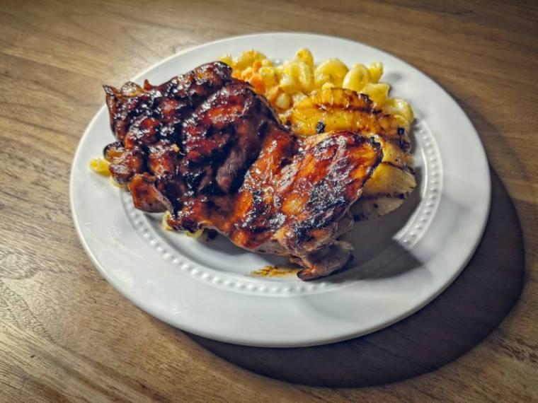 The Plate Lunch (Huli Huli Chicken and Mac Salad)