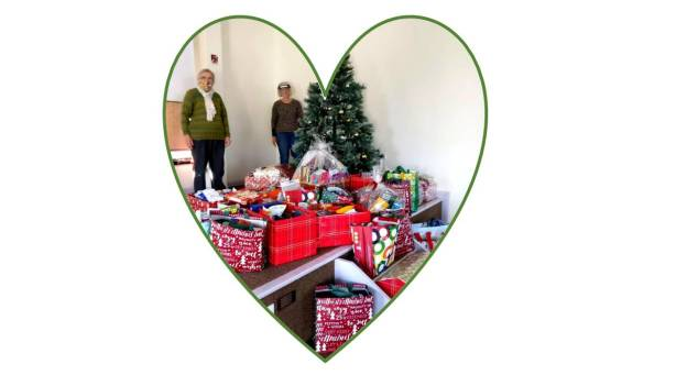 Christmas CAP hampers and cheerful helpers
