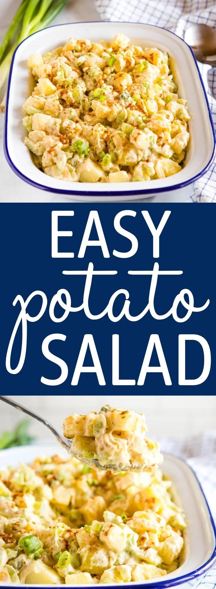Easy Potato Salad Recipe Pinterest