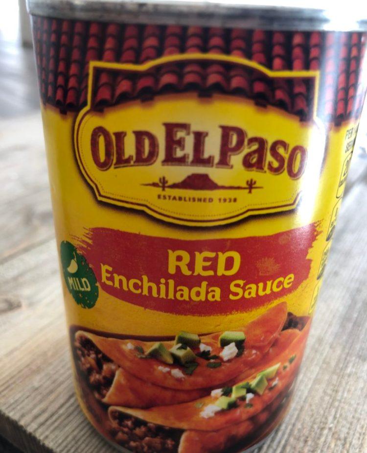 Enchilada Tacos- use this enchilada sauce