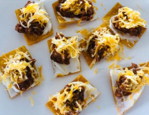 Enchilada Tacos- mini bites for kids