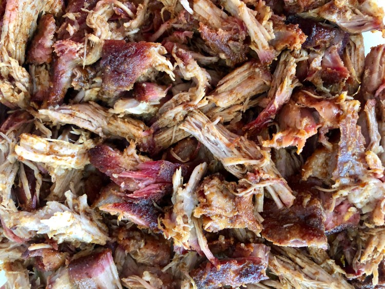 pulled pork without bbq sauce