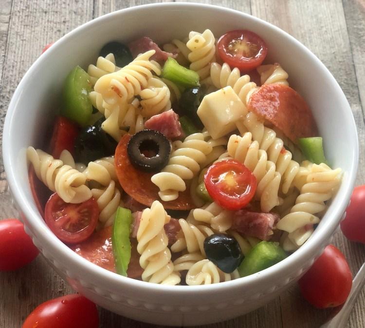 The BEST Italian Pasta Salad