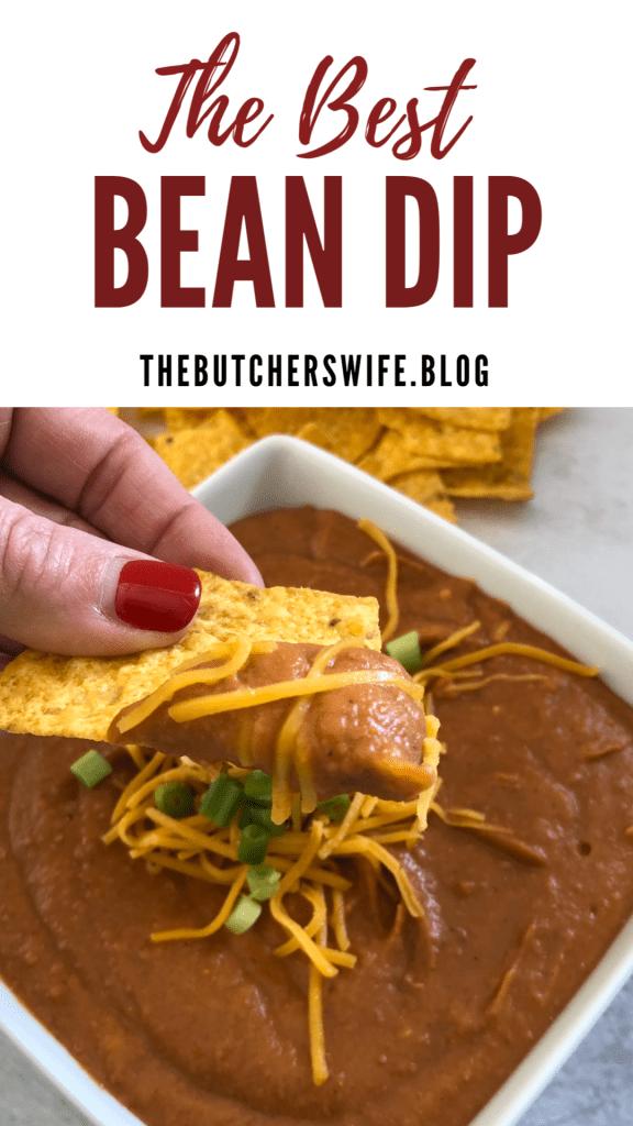 The Best Bean Dip