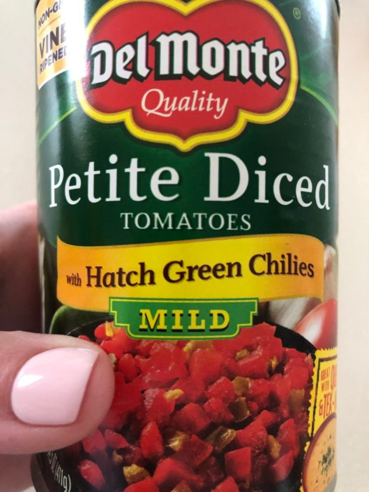 Cooper's Salsa- diced tomatoes