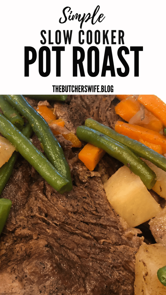 Simple Slow Cooker Pot Roast - feed your family fill them with good food and love