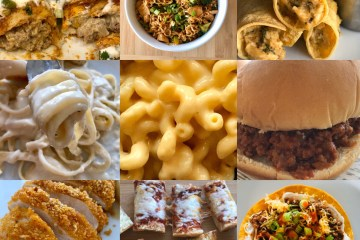 Fast and Easy Meals Recipe Roundup blog post