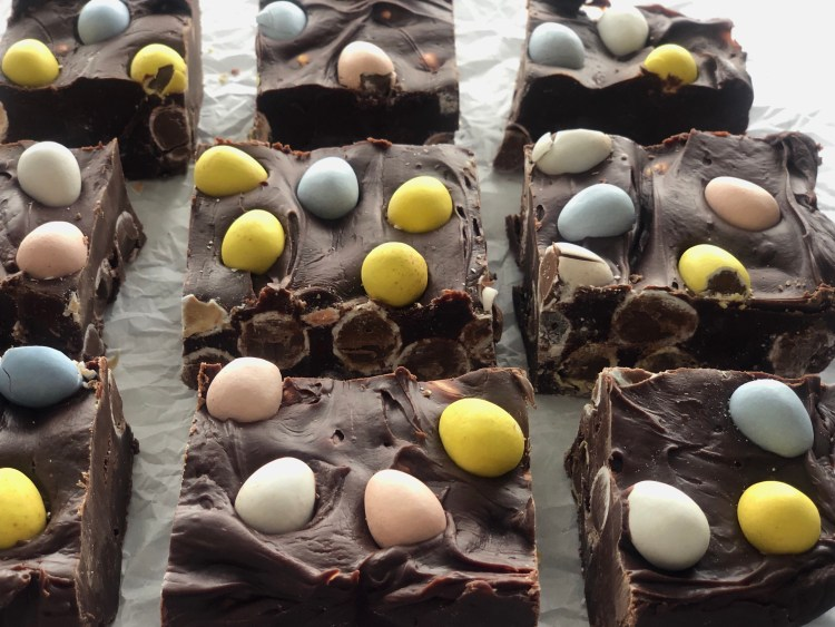 Easter Fudge- easy to make, everyone loves it, perfect for Easter