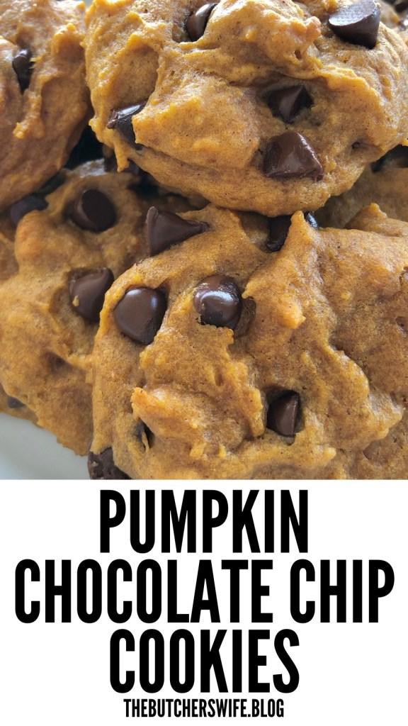 Pumpkin Chocolate Chip Cookies | The Butcher's Wife