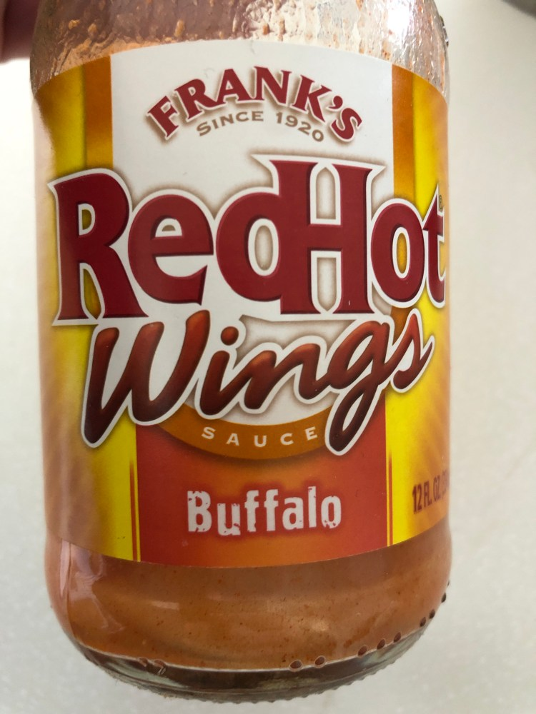 Frank's Buffalo Wing Sauce for Buffalo Chicken Ranch Taquitos