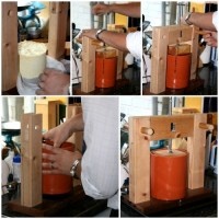 DIY Cheese Press