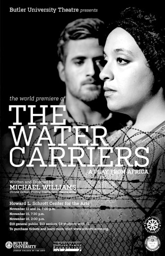 Butler Theatre recently presented a play about refugees from Africa.