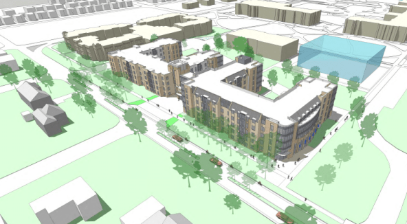 A new student housing facility is expected to alleviate housing issues.