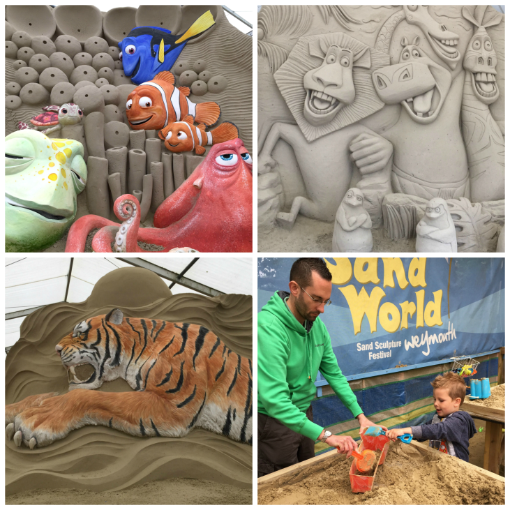 Sandworld collage