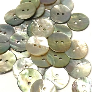 18mm natural mother of pearl buttons