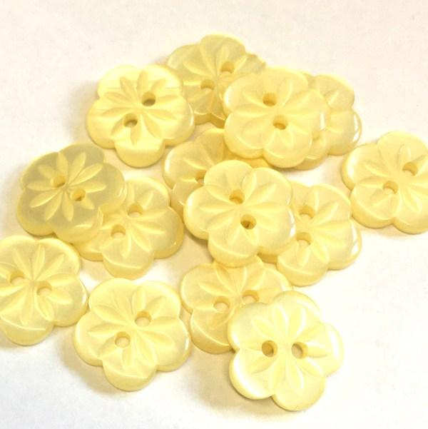 yellow flower buttons