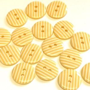 buttermilk stripe buttons