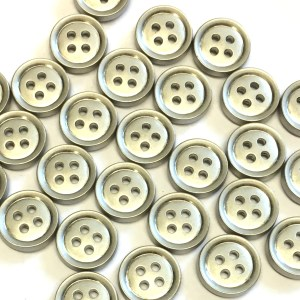 silver shirt buttons