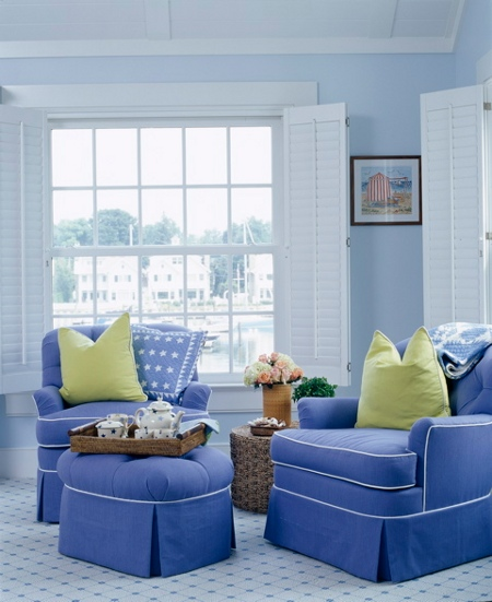 Blue Decor The Buzz Blog Diane James Home