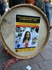 drum & poster