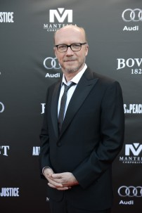 Paul Haggis arrives at the Artists for Peace and Justice Festival Gala co-presented by Audi Canada at Casa Loma during the Toronto International Film Festival.