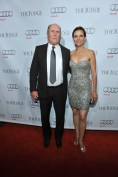 Robert Duvall and wife arrive at Montecito Restaurant for the film party presented by Audi after the special presentation screening of The Judge during the Toronto International Film Festival.