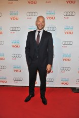 Corey Stoll arrives at Cluny Bistro for the film party presented by Audi after the special presentation screening of This Is Where I Leave You during the Toronto International Film Festival.
