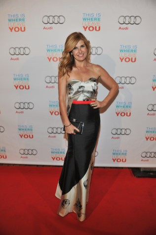 Connie Britton arrives at Cluny Bistro for the film party presented by Audi after the special presentation screening of This Is Where I Leave You during the Toronto International Film Festival.