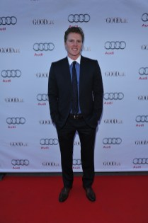 Trent Luckinbill arrives at Nota Bene for the film party presented by Audi after the special presentation screening of The Good Lie during the Toronto International Film Festival.