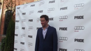 Guests arrive at the Citizen for the film after party presented by Audi after the special presentation screening of PRIDE during the Toronto International Film Festival.