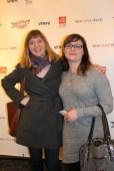 Comedienne/Sirius XM Radio host Allison (Al) Dore and Comedienne/actress Rebecca Kohler