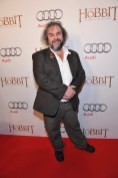 Peter Jackson arrives at the Windsor Arms Hotel for the film party presented by Audi Canada after the Canadian premiere screening of The Hobbit: The Battle of the Five Armies.
