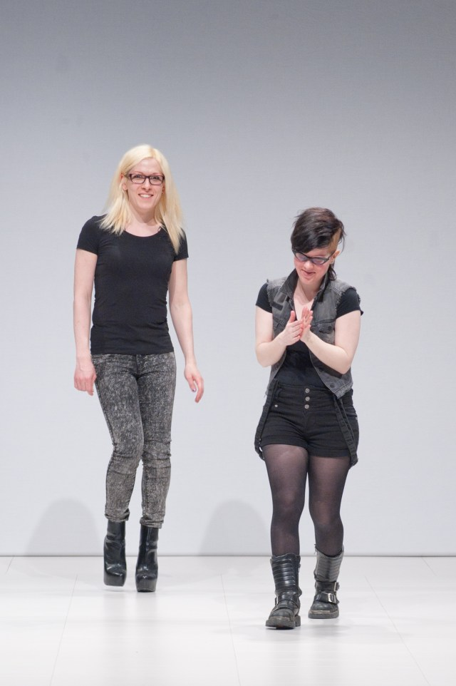 Mina Smart and partner Ashley present their label House of Etiquette at FAT 2015