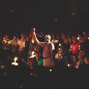 candlelight AIDS Vigil