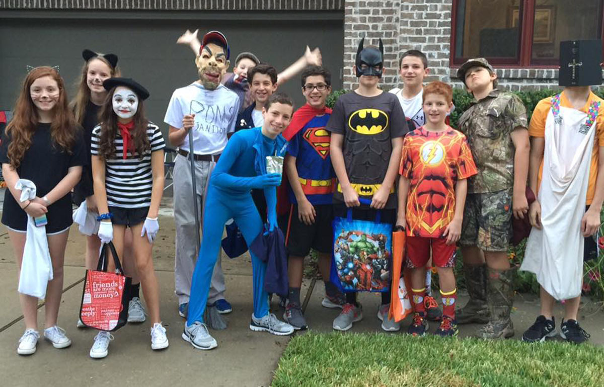Creative Costumes Candy And More Halloween Fun In Our Neighborhoods