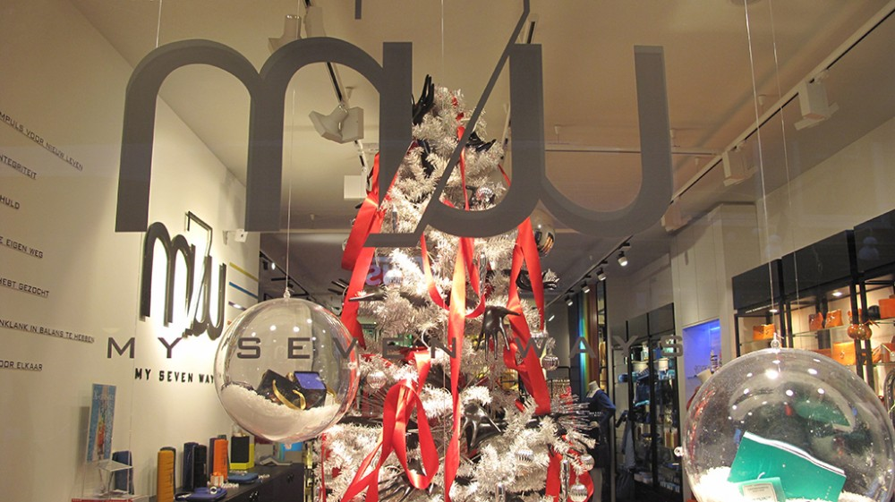 my seven ways quot gift christmas balls quot holiday window display best