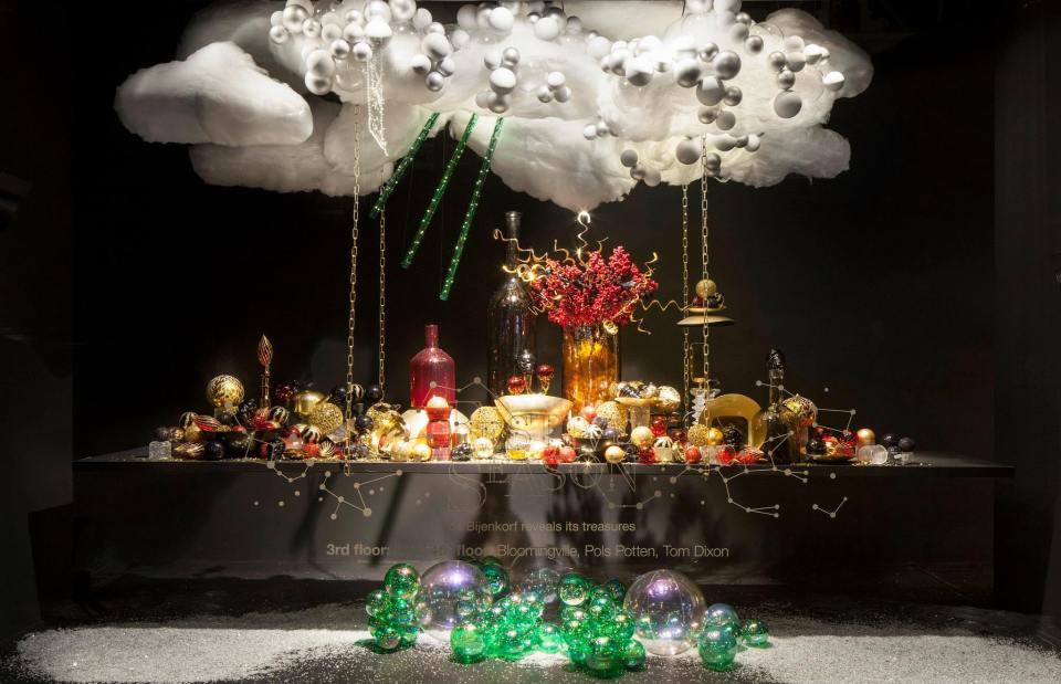 De Bijenkorf Festive Season Christmas Window Displays
