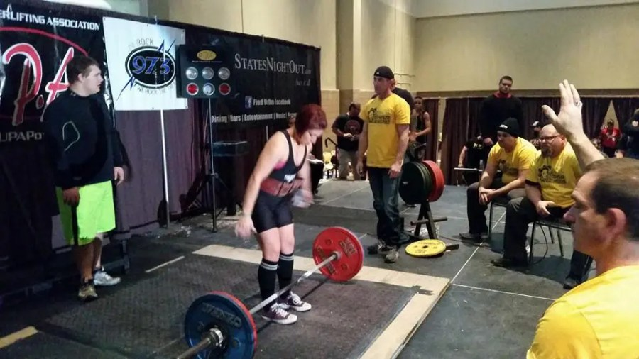 Female Powerlifter