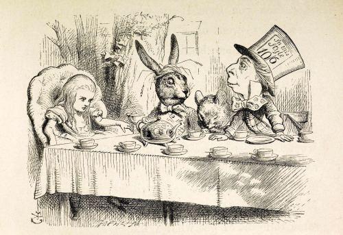 Dietary Didacticism in Wonderland
