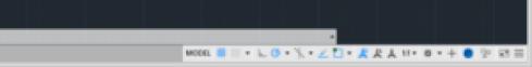 AutoCAD 2015 Status Bar