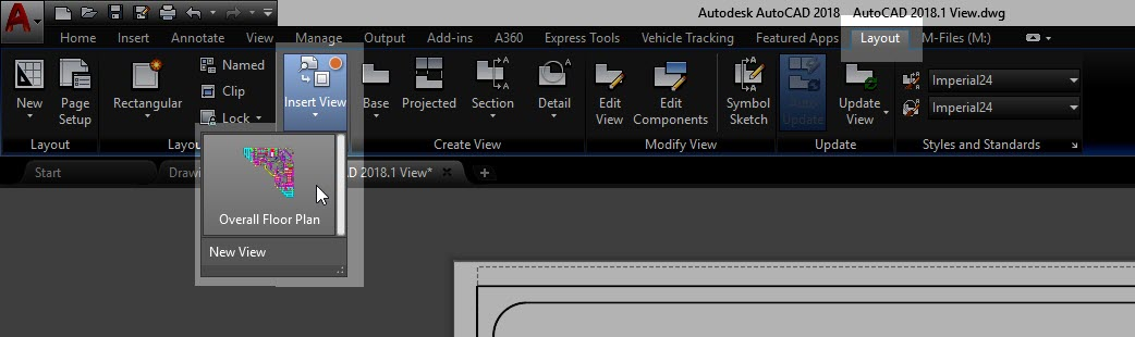 how to use viewport in autocad
