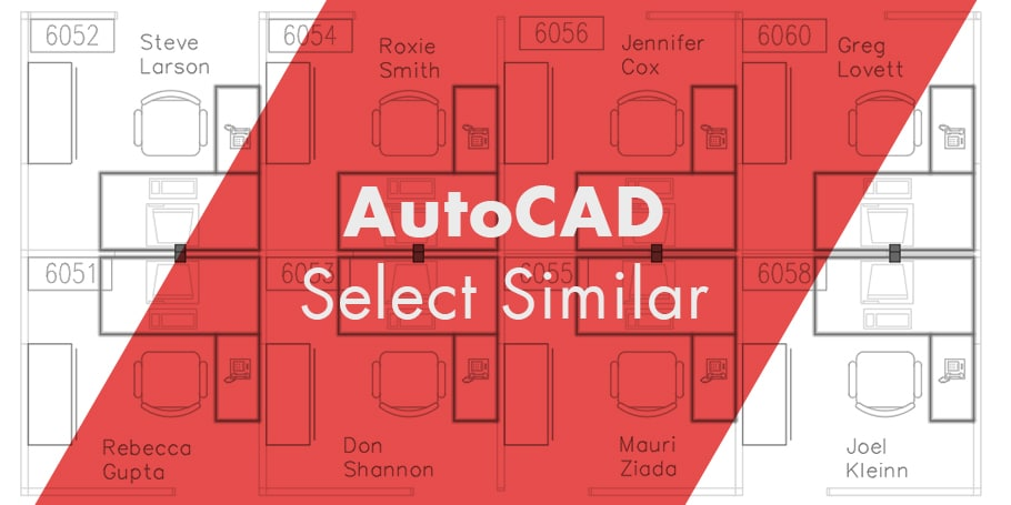 How to use the AutoCAD Select Similar Command - The CAD Geek