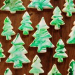 Christmas Tree Shortbread Cookies The Cafe Sucre Farine