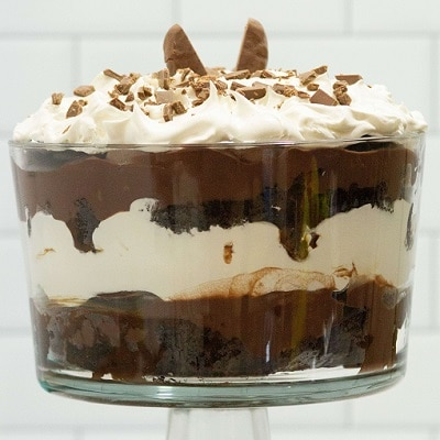 Easter Leftover Candy Chocolate Trifle