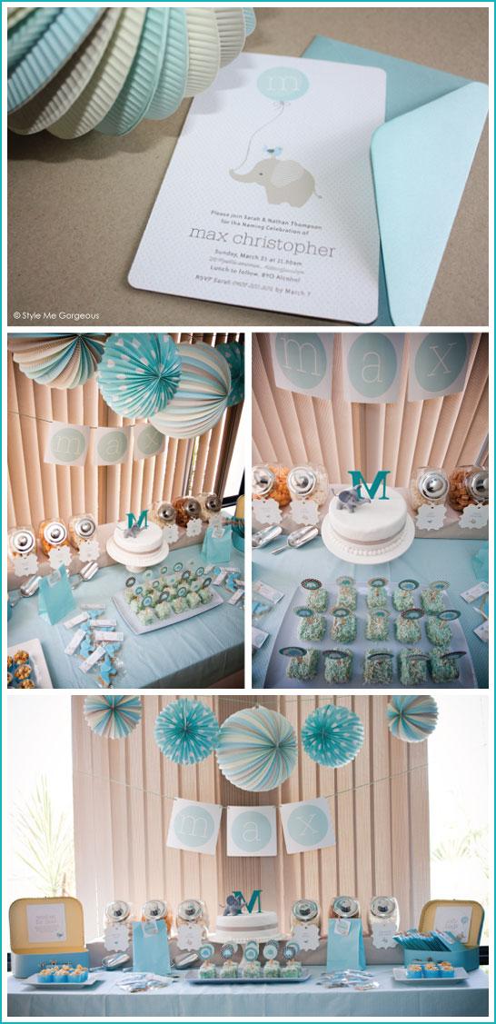 Southern Blue Celebrations BOY BABY SHOWER IDEAS