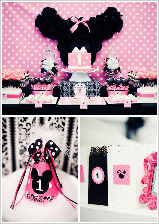 1st Birthday Minnie Mouse Party 1st Birthday Ideas