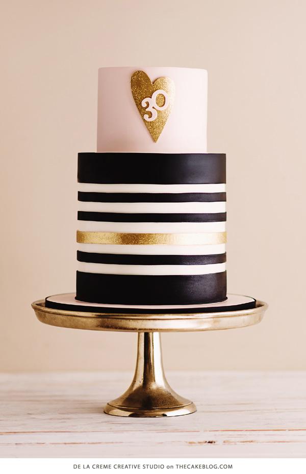 Black And Gold 50th Birthday Cake Ideas Men